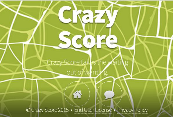 Crazy Score