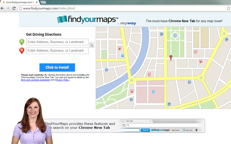 FindYourMaps Toolbar-