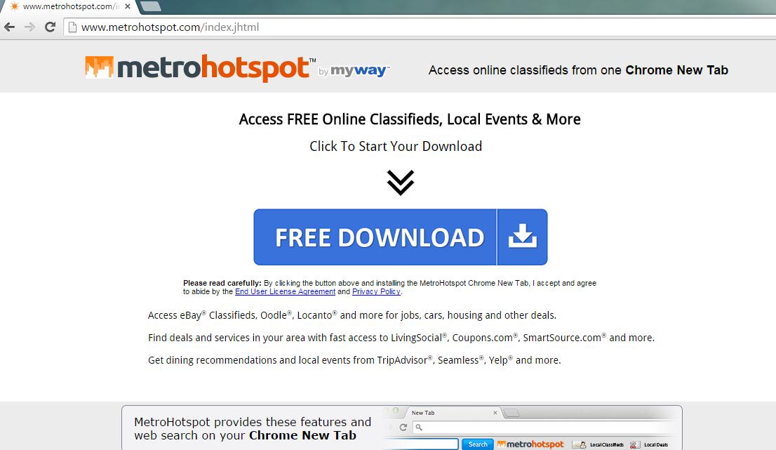 MetroHotspot Toolbar-