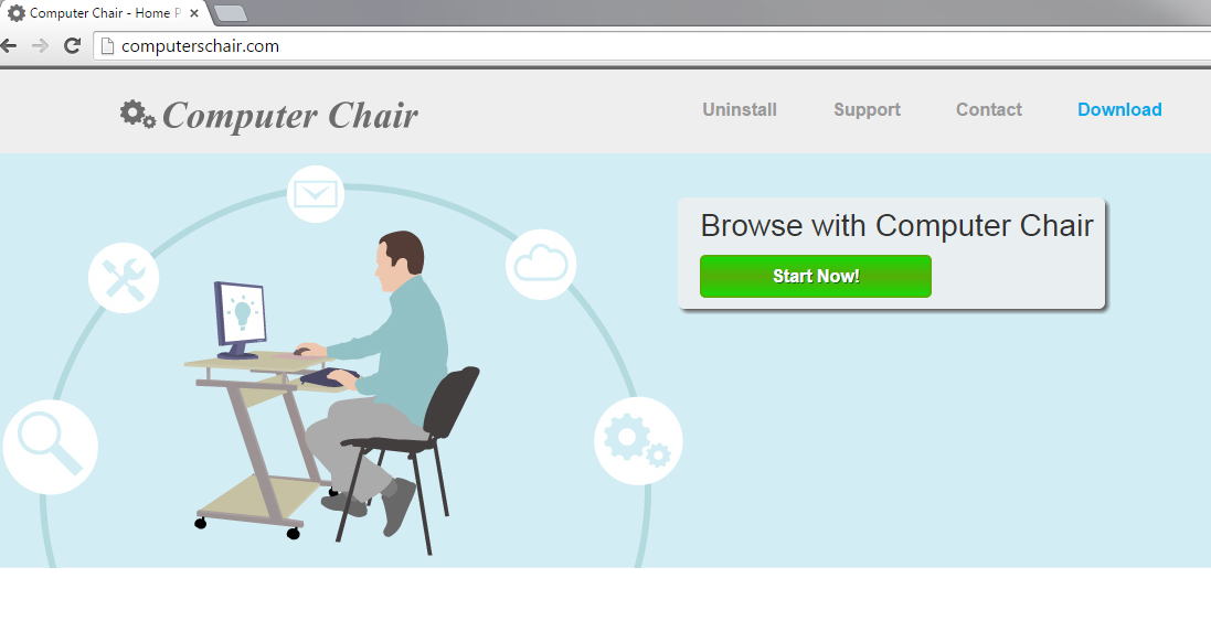 Computer Chair Ads-