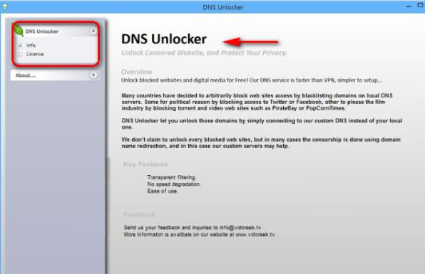 DNSUnlocker Ads-