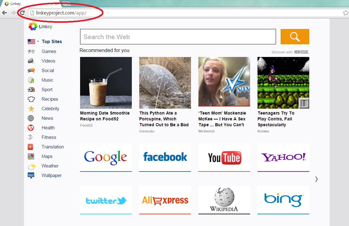 Linkeyproject.com-search