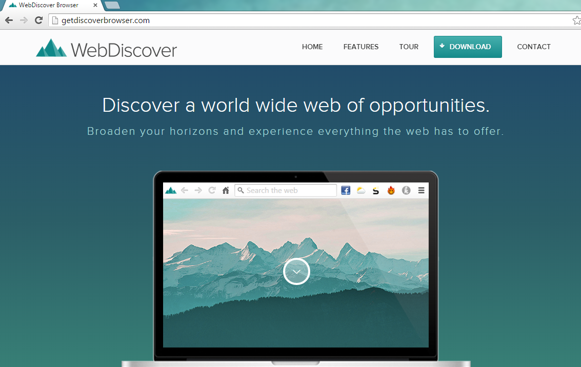 WebDiscover Browser-