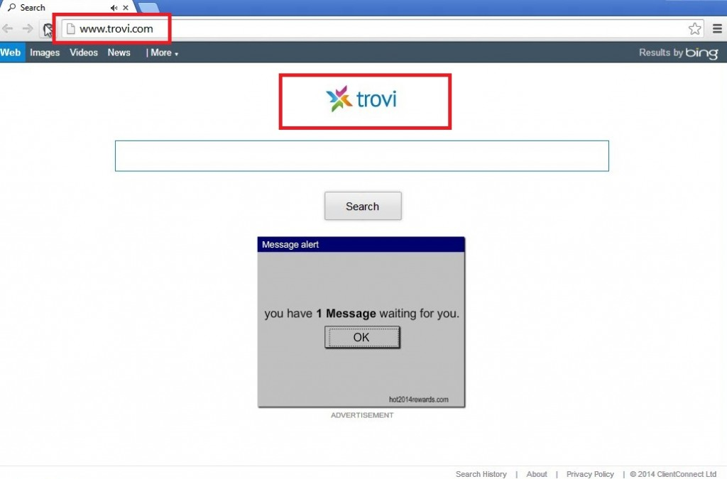 Remove Trovi Search Virus