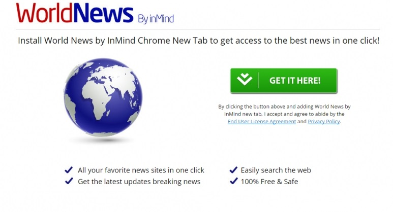 WorldNews New Tab-