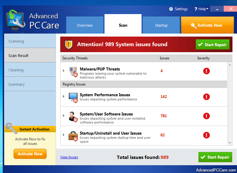 Advanced PC Care-