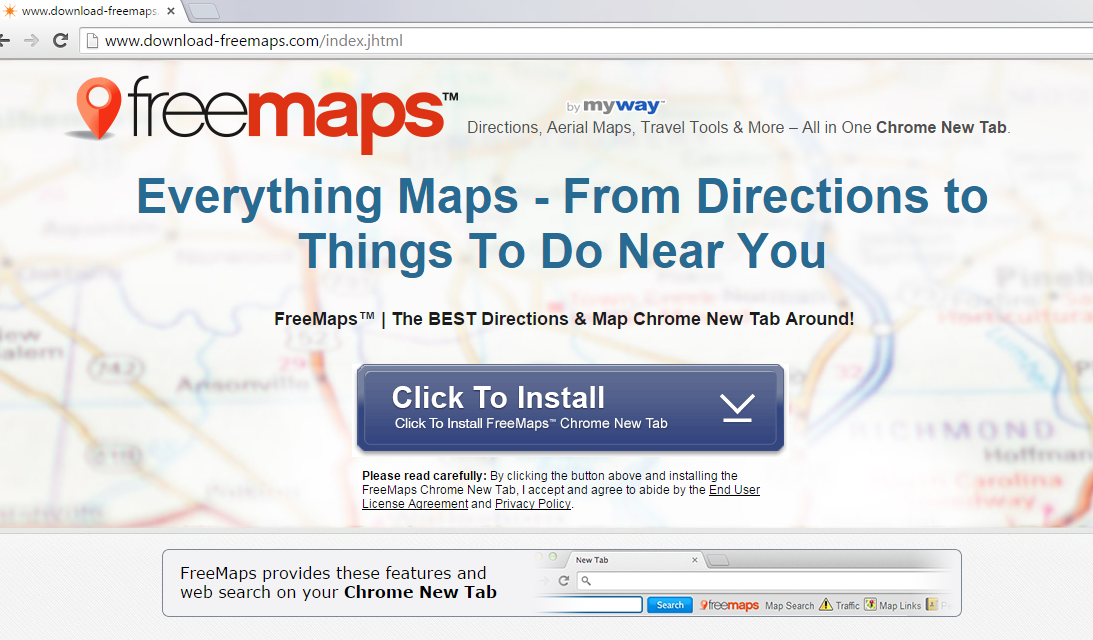 FreeMaps Toolbar-