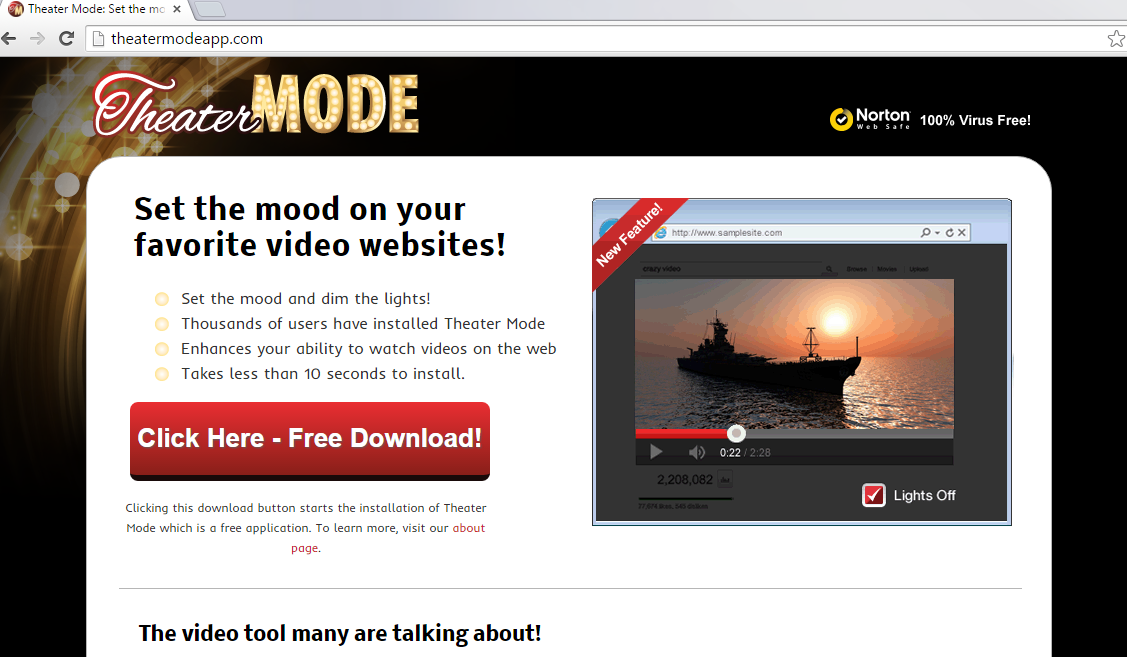Theater Mode-