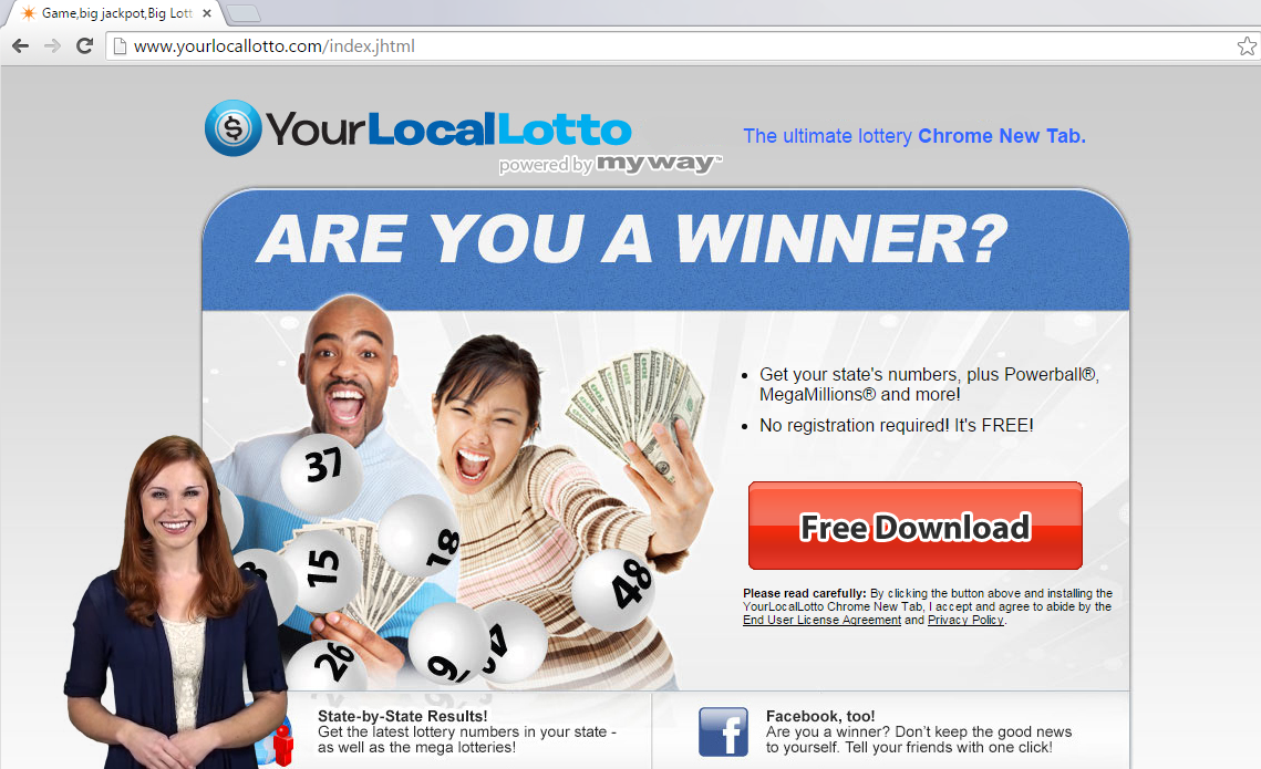 YourLocalLotto Toolbar-