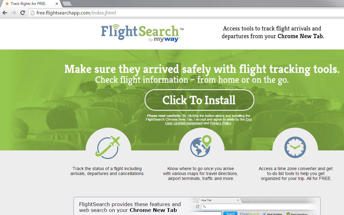 FlightSearch Toolbar-