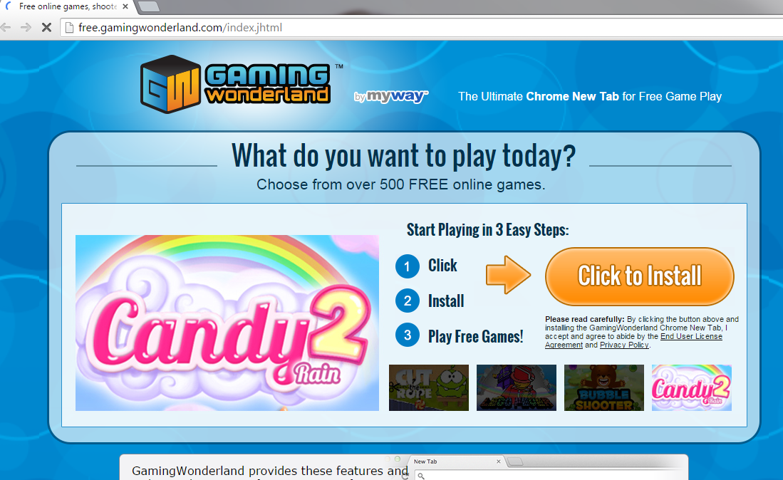 Gaming Wonderland Toolbar-