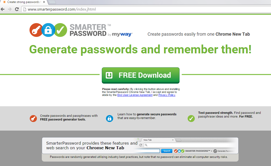 SmarterPassword Toolbar-