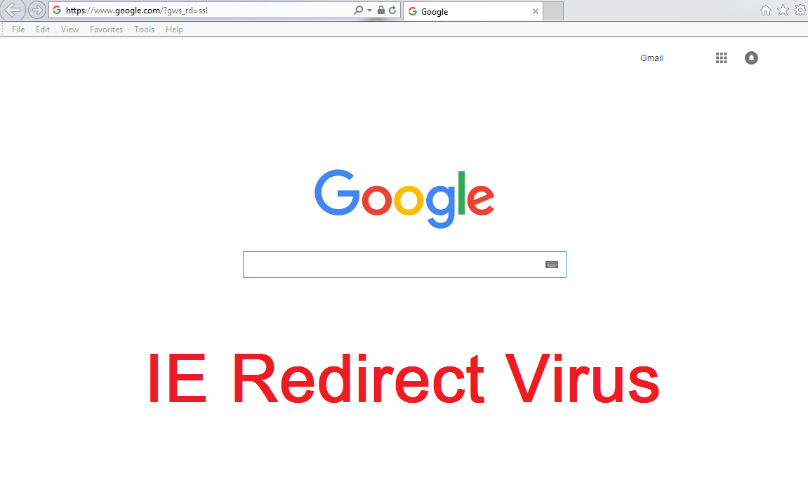 ie redirect-
