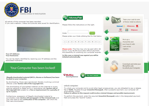 FBI-Moneypak-virus-removal