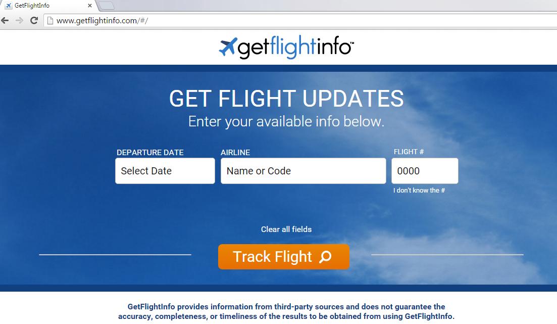 GetFlightInfo Toolbar-