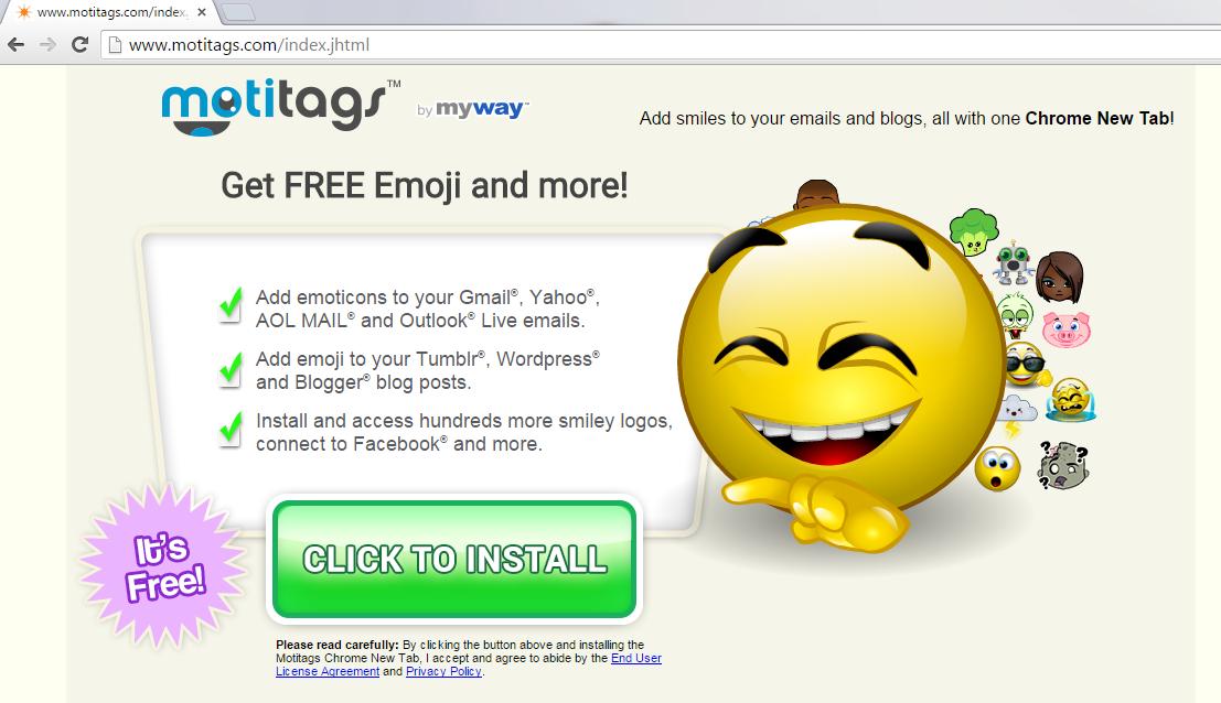 Motitags Toolbar-