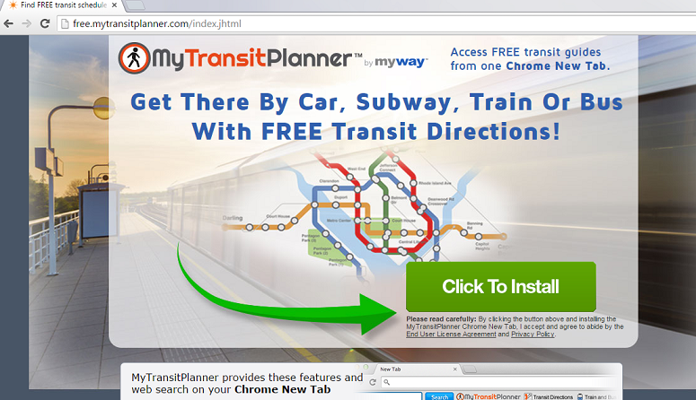 MyTransitPlanner Toolbar-