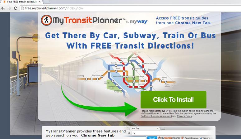 MyTransitPlanner Toolbar-
