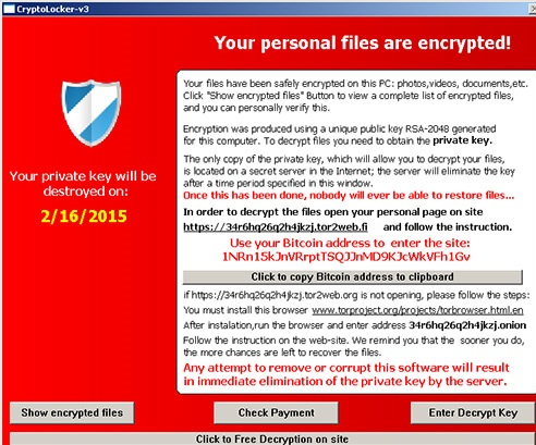 TeslaCrypt Ransomware-