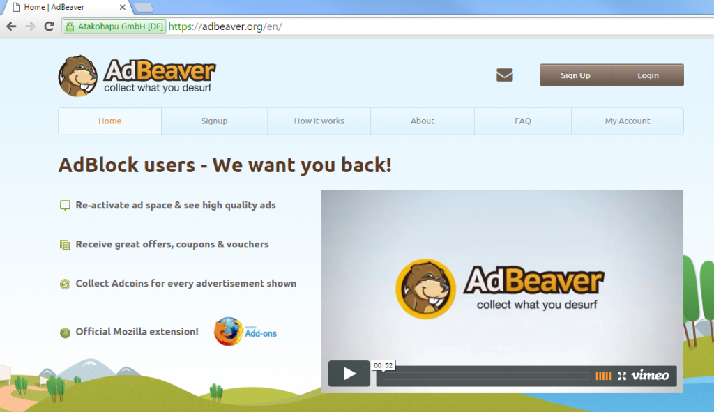 AdBeaver Ads-