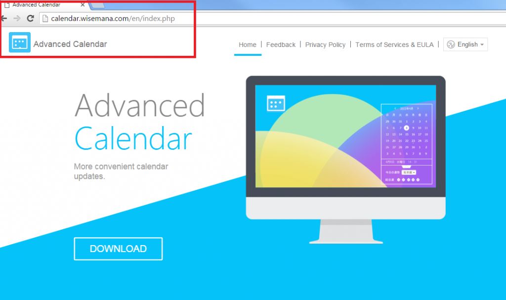 Advanced Calendar Ads-