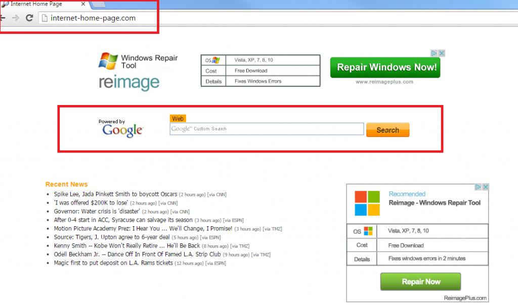 Internet-home-page.com-