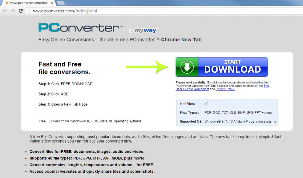 PConverter Toolbar-
