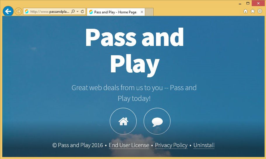 Pass and Play ads