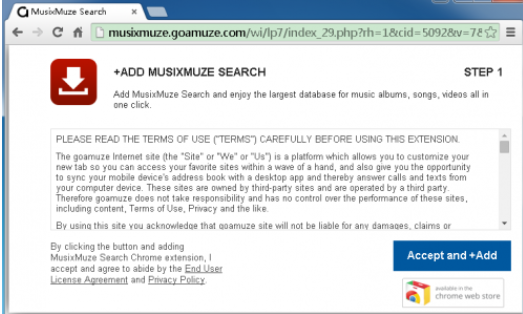 MusixMuze Search