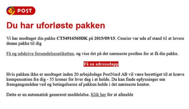 postnord ab ransomware entfernen. Black Bedroom Furniture Sets. Home Design Ideas