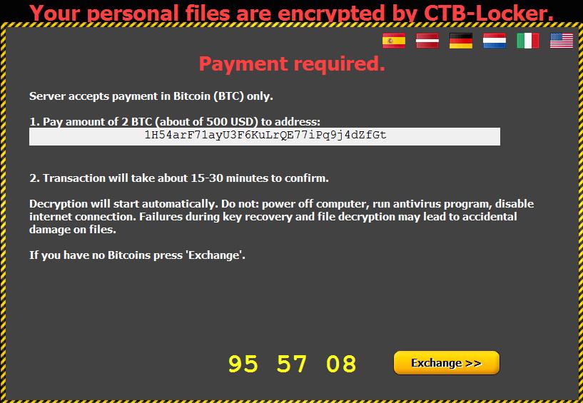 Critroni Ransomware-