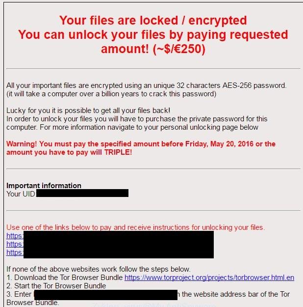 Zyklon-ransomware