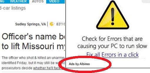 albireo-adware