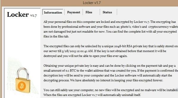 DMA Locker Ransomware-