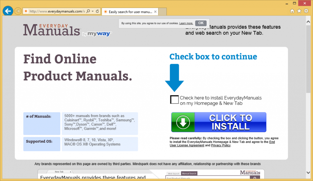 EverydayManuals Toolbar