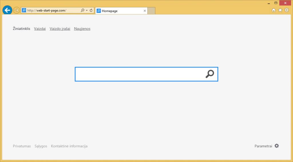 Web-start-page