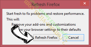 E-Searches.com Firefox reset confirm