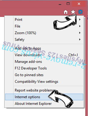 PDFConverterHQ Toolbar IE gear