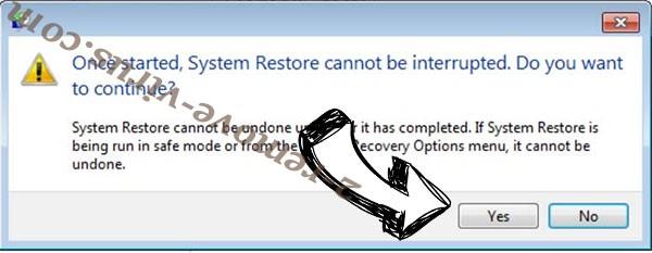 Bitcoinrush@imail.com removal - restore message