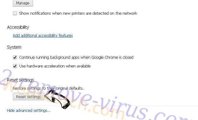 Inet123.ru Chrome advanced menu