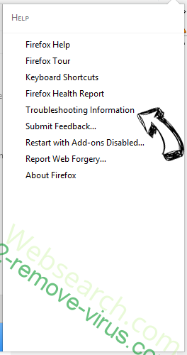 Cack.me pop-up virus Firefox troubleshooting