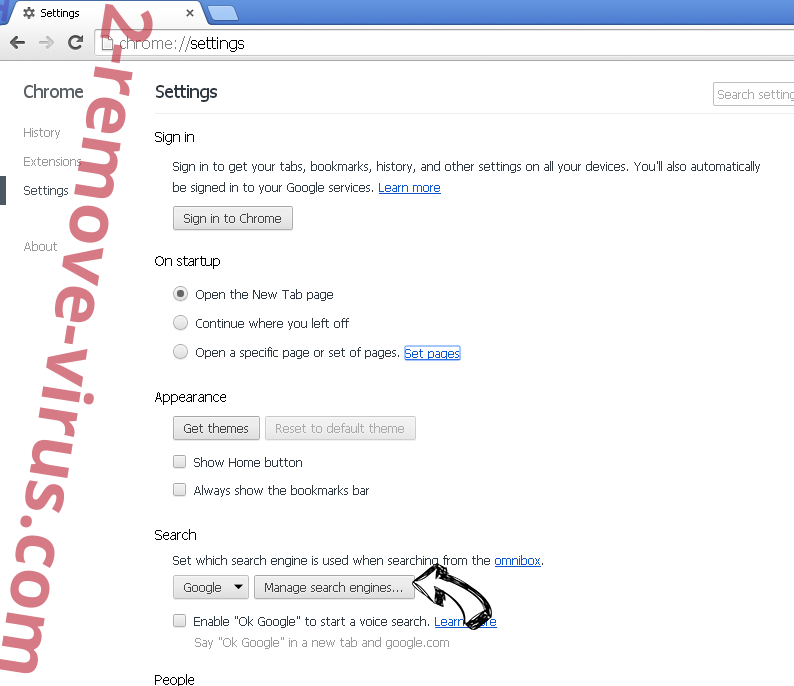 Search By MovixHub Chrome extensions disable