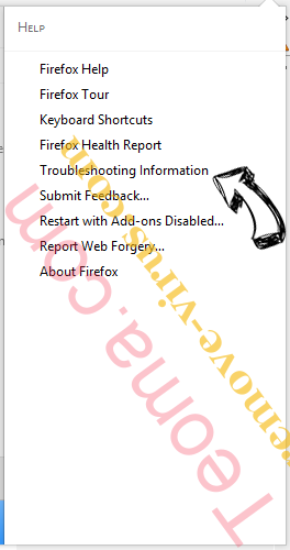 Supprimer SearchHub.info Firefox troubleshooting