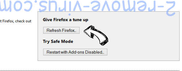 Search.shelfsick.com Firefox reset