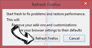 Ozip Search Firefox reset confirm