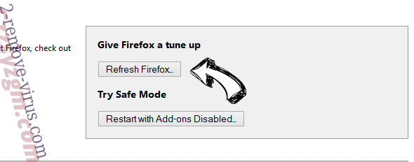 Mega Browse Firefox reset