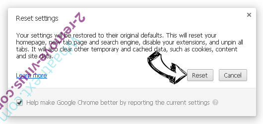 Whaatnext.com Chrome reset