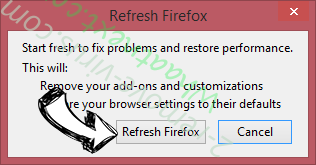 Polaris Search Firefox reset confirm