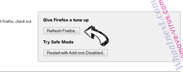 Fake Windows Restore Firefox reset