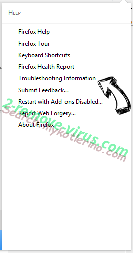Search.mykotlerino.com Firefox troubleshooting